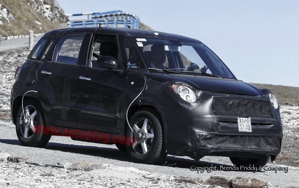 Fiat 500X, Jeep, Jeep Mini SUV, Kompakt SUV, erlkönig, spy shot, fotos, crossover, Patriot, Compass, 500 X,  Mini-SUV