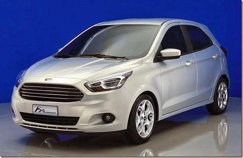 2015 ford ka figo concept pics 11 car interior design. Black Bedroom Furniture Sets. Home Design Ideas