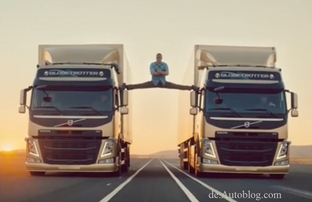 Volvo, Trucks, van damme, epic split, spagat,.Movie, Film, Trick, TV-Spot. Action, Vip, Promi. Star, TV spot, funny, witzig, cool