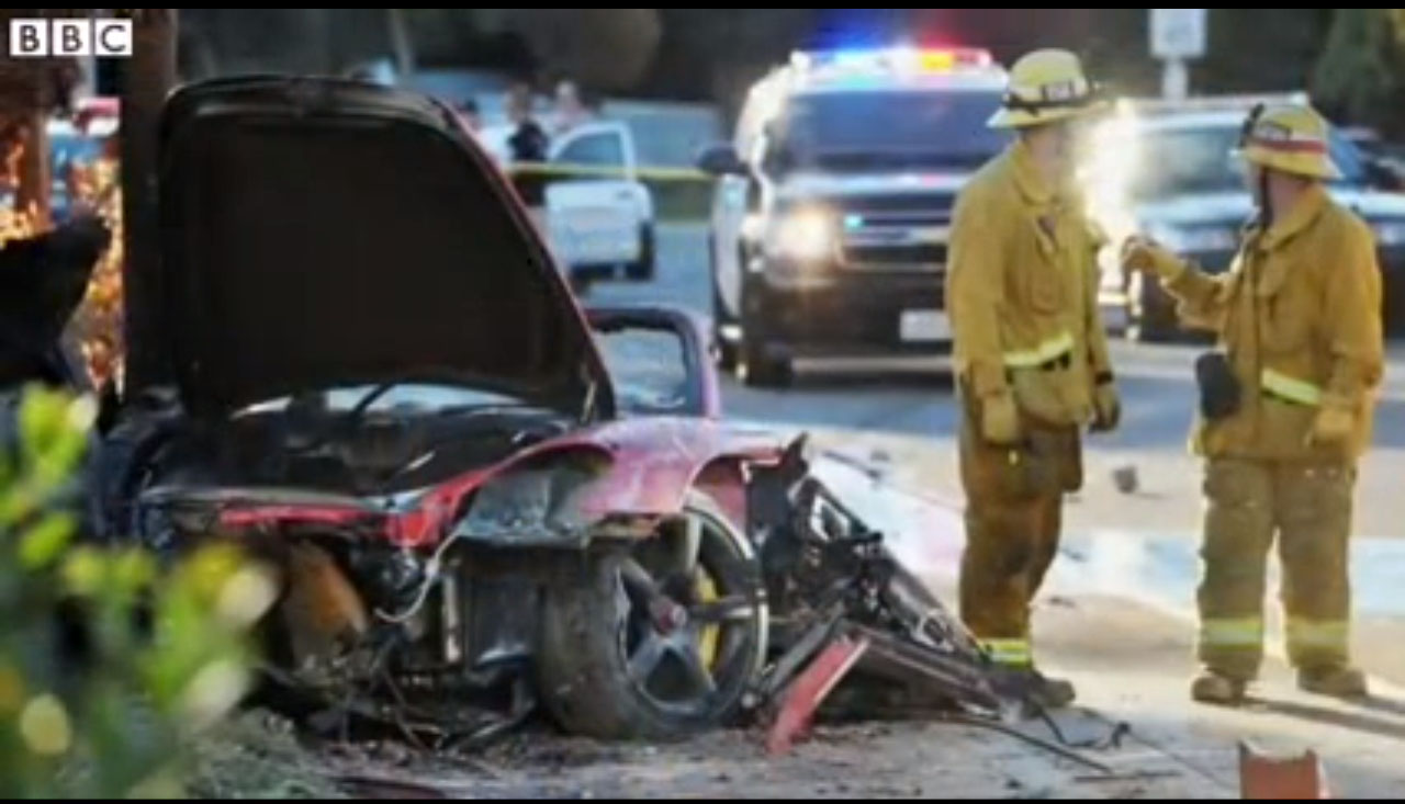 Paul Walker Fast Amp Furious Star Horror Porsche Crash