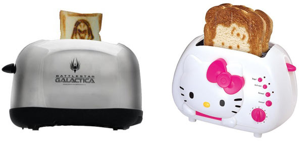 The Toaster Wars: Battlestar Galactica vs Hello Kitty