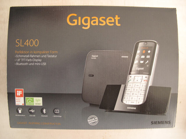 Gigaset SL400: Engadget Deutschland Hands-On