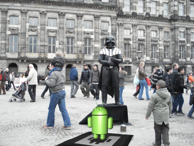 Erster Augmented Reality Flashmob morgen in Amsterdam