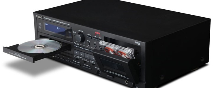 TEAC AD-800 archiviert eure Tapes auf CD oder USB-Medien