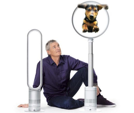 dyson air multiplier ventilatoren ohne sichtbare rotorbl tter engadget deutschland. Black Bedroom Furniture Sets. Home Design Ideas