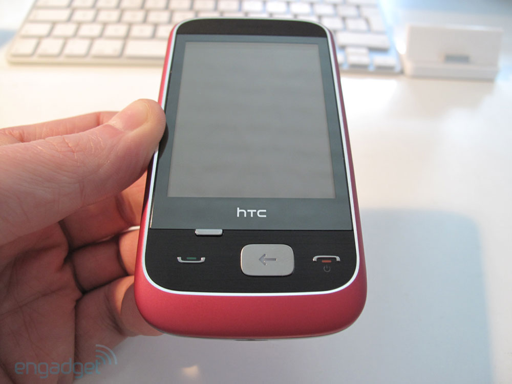 HTC Smart: Engadget Deutschland Hands-On