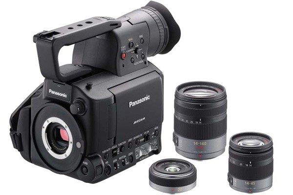 Panasonic kündigt Four-Third-Camcorder AF 100 an