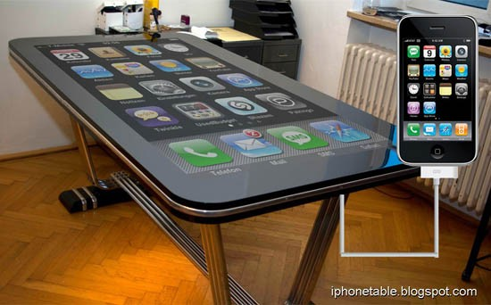 58-Zoll-Touch-Tisch Table Connect verspricht volle iPhone-4-Funktionalität