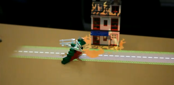 Intel spielt interaktives Augmented Reality-Lego mit Tiefenkamera (Videos)