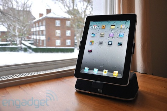 review altec lansing octiv 450 stereo lautsprecher dock frs ipad deutsch. Black Bedroom Furniture Sets. Home Design Ideas