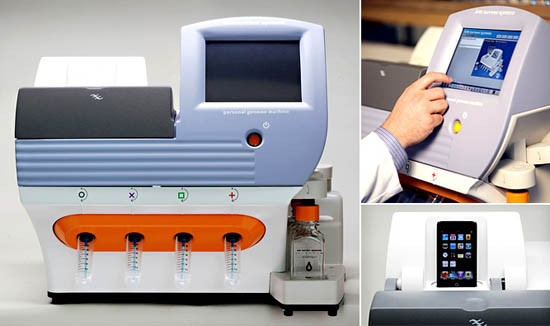 Printer-sized Personal Genome Machine launched
