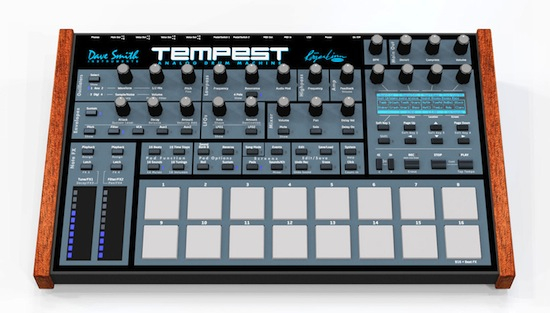 Winter Namm 2011: analoge Drummachine Tempest von Roger Linn und Dave Smith (Videos)