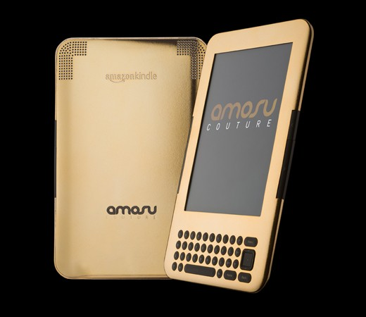 Kindle gepimpt von Amosu Couture mit 24 Karat Gold