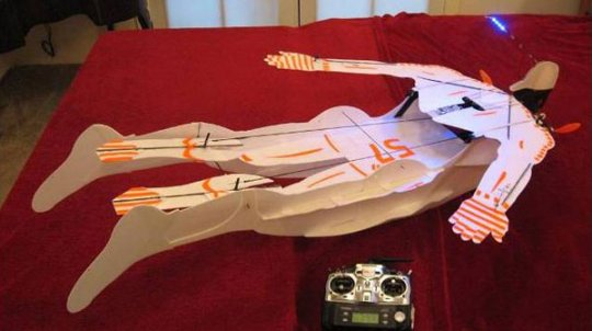 how to make a remote control plane at home easily
