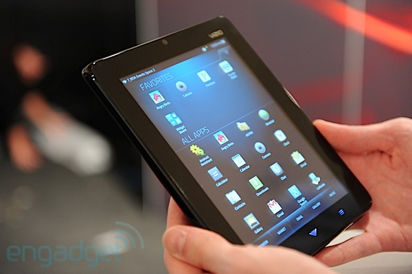 Hands-On: Vizio Tablet