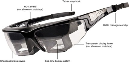 augmented reality brille vuzix star 1200 engadget. Black Bedroom Furniture Sets. Home Design Ideas