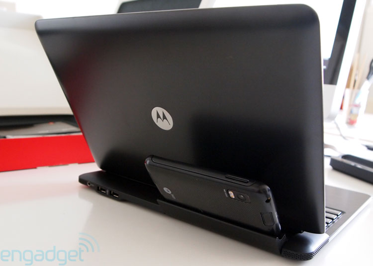 Review: Motorola Atrix mit Laptop- und Multimedia-Dock
