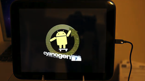 Android bald am Start: Cyanogenmod 7 auf dem HP Touchpad (Video)