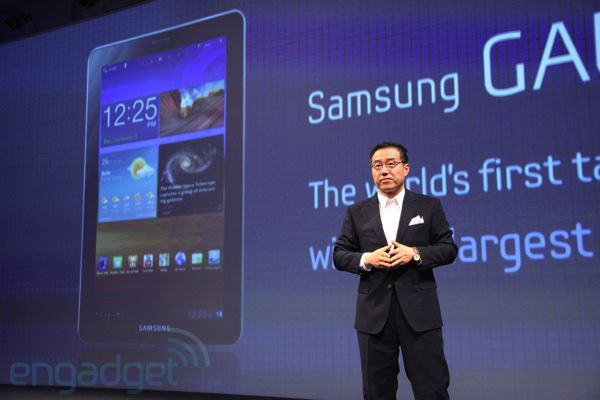 IFA 2011: Samsung Galaxy Tab 7.7 mit Super-AMOLED-Display (Update: Hands-On!)