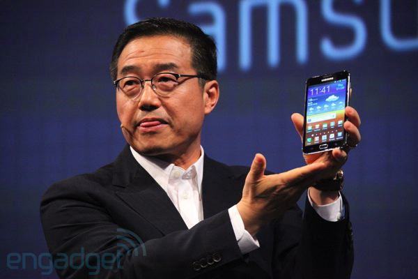 IFA 2011: Samsung Galaxy Note (Update: Hands-On!)