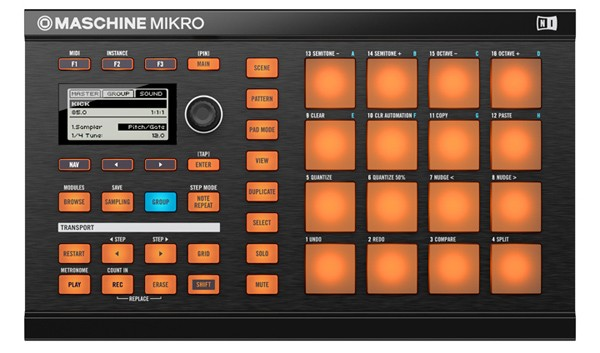 Hands-On: Groovebox NI MASCHINE MIKRO (Video)