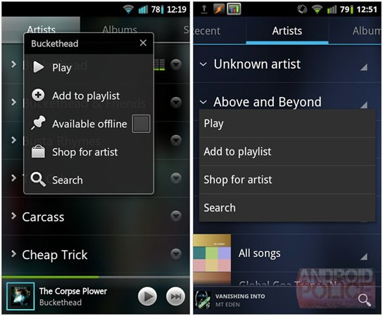 Ice Cream Sandwich-Leak: Download von Music 4.0.1, Preview von Google+ 2.0