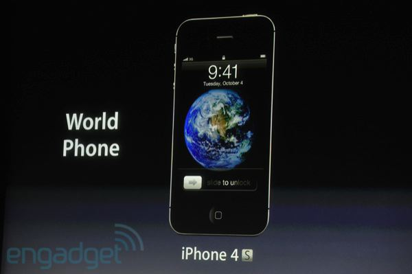 iPhone 4S wird offiziell: A5 CPU, 8 Megapixel Kamera, Siri Spracherkennung (Videos)
