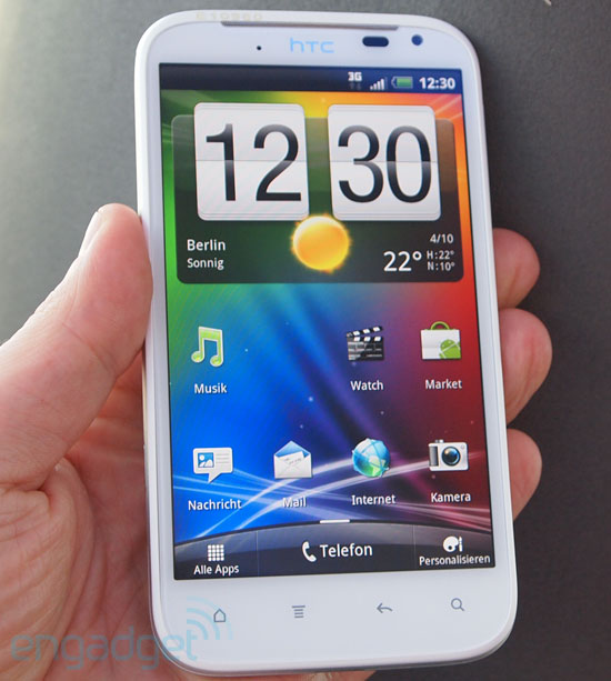 "HTC Sensation XL: Android mit 4,7"" und Beats Audio (Video)"