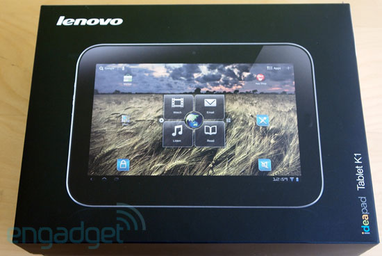 Unboxing: Lenovo IdeaPad Tablet K1