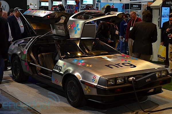 DeLorean DMC-12 EV: Eyes-On auf der CES 2012