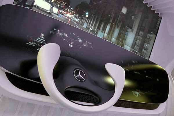 mercedes benz dice autocockpit der zukunft engadget. Black Bedroom Furniture Sets. Home Design Ideas