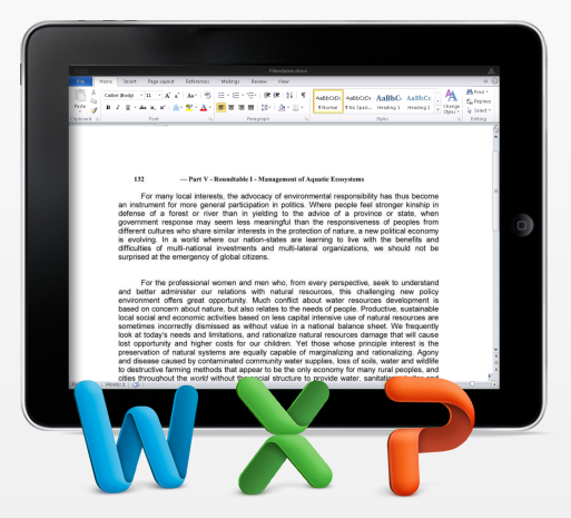CloudOn: Microsoft Office auf dem iPad, in der Wolke