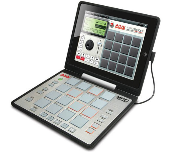 Akais MPC Fly gibt dem iPad  Buttons fürs Musikproduzieren on the run