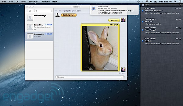 Preview: Apples OS X 10.8 Mountain Lion (Video)