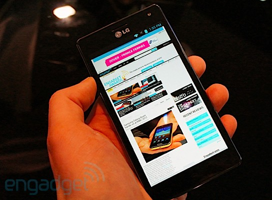Hands-On: LG Optimus 4X (Video)