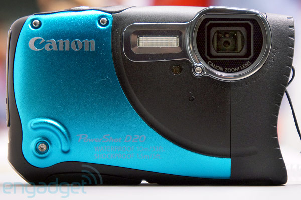 Canon PowerShot D20: Hands-On