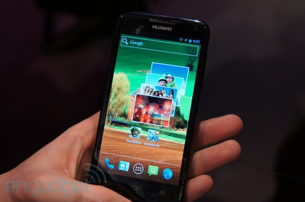 Hands-On: Huawei Ascend D quad