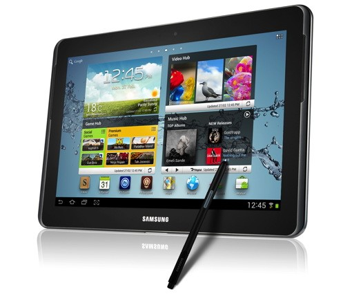 Hands-On: Samsung Galaxy Note 10.1