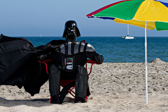 Loop des Tages: Atemtherapie mit Darth Vader (Video)