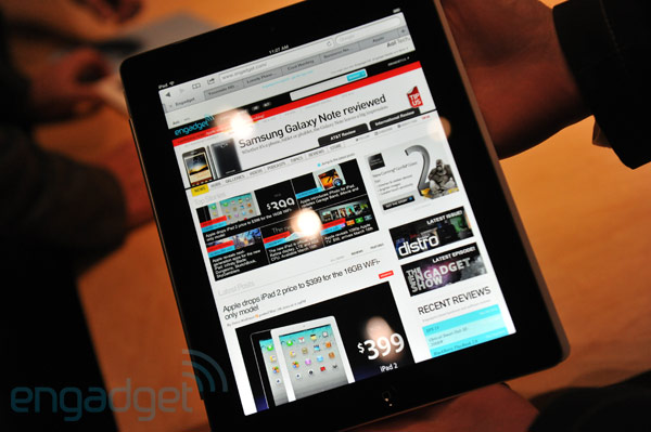 Liveblog: iPad 3-Vorstellung aus dem Yerba Buena Center for the Arts