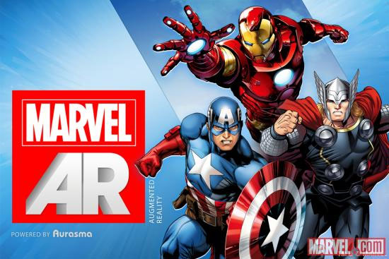 Marvel startet mit Augmented Reality für Comics (Video)