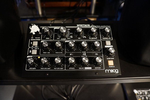 Musikmesse 2012: Moog Minitaur (Video)