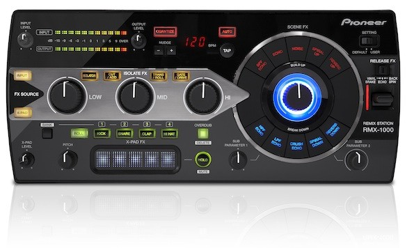 Musikmesse 2012: Pioneer kündigt Remix Station RMX 1000 an (Video)