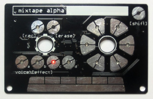 DIY: Mixtape Alpha, Synthesizer im formschönen Musikkassettengehäuse (Video)