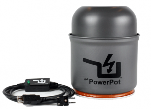 Power Pot - Strom aus Feuer