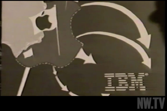"""Why 1984 is like 1944"": Interner Apple-Spot von 1984 mit Steve Jobs als Franklin D. Roosevelt"