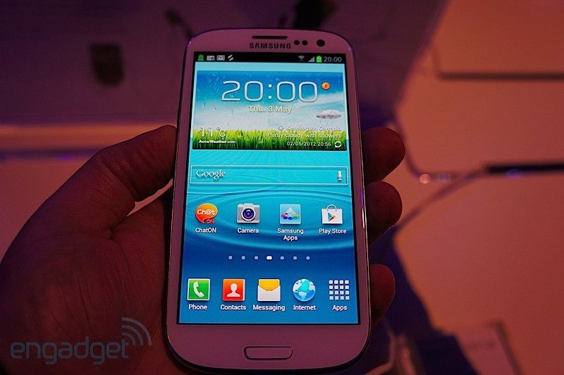Hands-On: Samsung Galaxy S3 (Video)