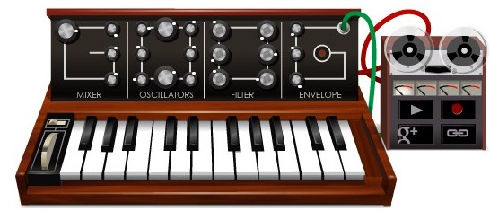 Google wird Moogle: interaktiver Synthesizer zu Bob Moogs Geburtstag (Video)