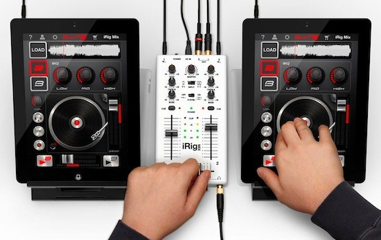 iRig Mix: DJ-Mixer für iOS fördert impromtu Blockparty-Superstar-DJs