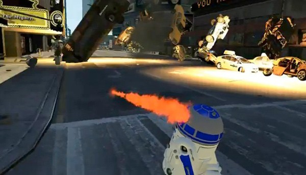 GTA-Mod: R2-D2 läuft herzallerliebst Amok (Video)